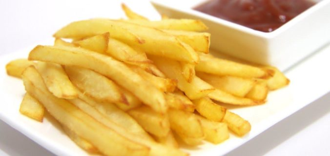 Simple fried chips