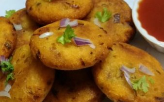 Vegetable and Semolina cutlets